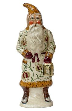 Vaillancourt 'Santa in Brocade with Lantern' Figurine available at #Nordstrom