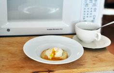 @The Kitchn : How to Poach An Egg in the Microwave #eggcookingtip #timesaver #yum