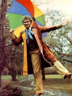 The Sixth Doctor - Colin Baker: Kinda scary/mean/condescending. I liked Peter Davison better....