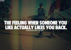 The best feelings in the world!