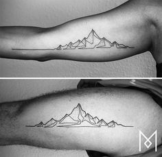 10+ Incredible Tattoos Created Using A Single Continuous Line By Mo Ganji | Bored Panda