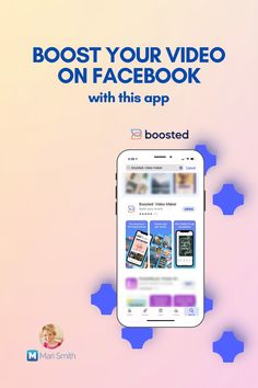 If you're not regularly creating and publishing video on your Facebook page, it's time to get going! Video on Facebook gets the best reach and engagement.  Create thumb-stopping, eye-catching short videos in the palm of your hand with BOOSTED: Video Maker by Lightricks.  Click to read how!  #videoapp #videomarketing #facebook #videotools Facebook Marketing Strategy, Online Marketing Tools, Social Media Marketing, Best Facebook, How To Use Facebook, Business Pages, Business Tips, Facebook Business, Creating A Business