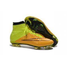 Nike Mercurial Superfly FG Ronaldo Football Boot Leather Yellow Volt Size are super lightweight and built for speed to make you faster on the pitch. Nike Soccer Shoes, Nike Cleats, Soccer Boots, Football Shoes, Soccer Cleats, Cr7 Ronaldo, Cristiano Ronaldo Cleats, Ronaldo Football, Superfly 4