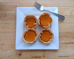Mini Pumpkin Pies | The eMeals Blog