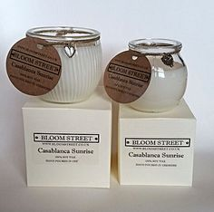 Bloom Street Candle Gifts www.Bloomstreet.co.uk #scentedcandles #soywaxcandles #lovecandles
