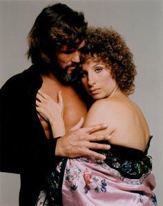 Kris Kristoferson and Barbra Streisand in A Star is Born
