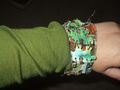 puzzle piece bracelet. I want to alter some puzzle pieces and do a bracelet though. #jewelry