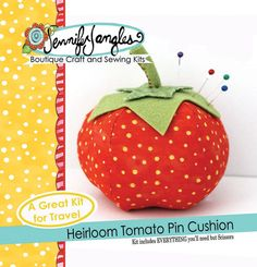 Tomato Pin Cushion Sewing Pattern