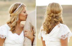 Hochzeitsfrisuren halboffen, offen oder hochgesteckt? Es gibt viele Möglichkeiten für eine schöne Brautfrisur. Lasst euch in unserer Galerie inspirieren...
