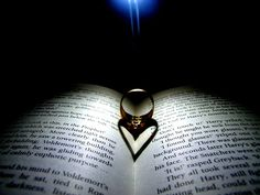 Neat photo of a ring, would be cute to do with the Bible at a passage that talks about marriage.