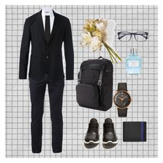"""""""Office days"""" by slamet on Polyvore featuring Gucci, Urban Pipeline, Neil Barrett, The Kooples, Longines, National Tree Company, Valextra, Emporio Armani, Yves Saint Laurent and Givenchy"""