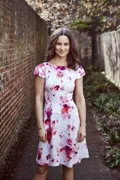 Pippa Middleton charity bike ride | Designs dress and scarf for British Heart Foundation | Harper's Bazaar