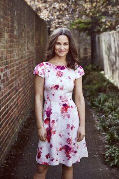 Pippa Middleton charity bike ride   Designs dress and scarf for British Heart Foundation   Harper's Bazaar