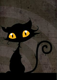 BlAcK cAt by littlepainkiller.deviantart.com on @deviantART