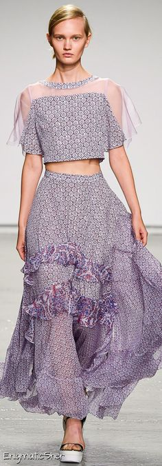 Rebecca Taylor Spring Summer 2015 Ready-To-Wear
