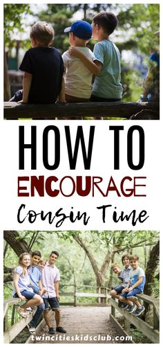 Twin Cities Kids Club Blogs: How to Encourage Cousin Time - For many people, the time spent with family is the most important thing. As a parent, you want your child to have the best family experience possible as they grow up. Cousin relationships are a huge part of family relationships. #cousintime #encouragingcousintime #kidstime #kidsplay #funtime #parenting  #parentingtips Activities For 2 Year Olds, Indoor Activities, Infant Activities, Play Based Learning, Fun Learning, Kids And Parenting, Parenting Hacks, Cousin Relationships, 3 Year Olds