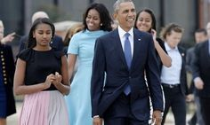 The Obamas Are Staying In D.C. After Presidency Ends for 2 yrs until daughter Sasha finishes high school.  They've leased a beautiful home in DC.
