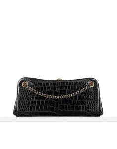 Alligator bag embellished with... - CHANEL