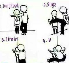 BTS Bangtan Boys | Jungkook, Suga, Jimin, V