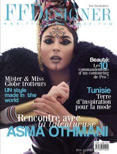 Issue 15 - The Trend Issue   Photographer: Hend Jebali Hair & MU: Steevy Aymen Model: Asma Othmani Fashion Editor: Seyf Dean Machiavelli