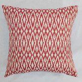 Found it at Wayfair - Hafoca Ikat Cotton Throw Pillow