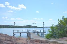Inks Lake State Park south fishing pier, Burnet Texas