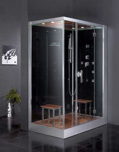 Bon Corner Steam Shower | Steam Showers Inc. | Sauna/Health Products |  Pinterest | Steam Showers, Showers And Corner