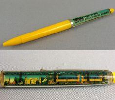 Schwimmkugelschreiber.