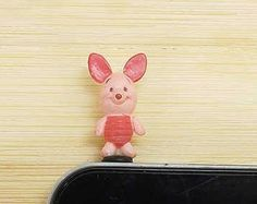 Disney Cell Phone Dust Plugs | 40%OFF Disney Cartoon Lovely Pink P ig Dust Plug 3.5mm Cell Phone Plug ...