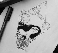 Ilustra amor ✏ (Vendido) Encomendas -> direct  #inkart #ink #illustration #drawing #ilustração #instaart #art #instadraw #blackworkillustrations #blackwork #inked #lineart #inspiration #amooquefaço #copicmarkers