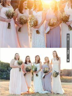 pastel bridesmaid dresses   CHECK OUT MORE IDEAS AT WEDDINGPINS.NET   #bridesmaids