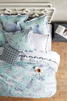 Willowherb Duvet - anthropologie.com
