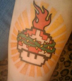 Vidoe game tattoo