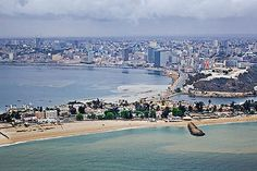 Ome of the most expensive places to live: Luanda, Angola Lonely Planet, Places Around The World, Around The Worlds, Most Expensive, Places Of Interest, Congo, Aerial View, 2 In, Paris Skyline