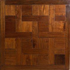 Contour Parquet Floor Panels / Weave Panel