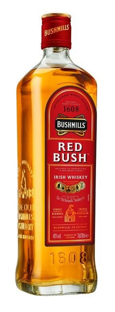 For its latest trick, Bushmills is taking things as old-school as they get. Bushmills Red Bush is a NAS variant of the classic Irish whiskey, one that is aged exclusively in first-fill, medium-char… Whisky Bar, Whiskey Drinks, Whiskey Decanter, Bourbon Whiskey, Scotch Whisky, Whiskey Bottle, Whiskey Girl, Rum Bottle, Liquor Bottles