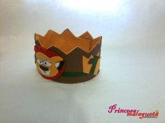 """Coroa de Feltro """" O Rei Leão"""""""