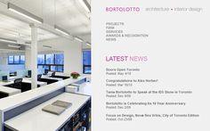 40 inspirational architects websites showcased