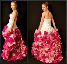 25 Creative Dresses Made From Paper | AntsMagazine.Com