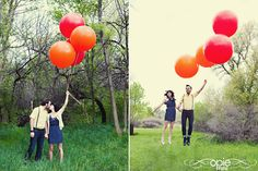 Balloons. Engagement
