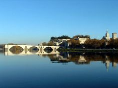 Will be riding over this in less than a month! Historic Centre of Avignon: Papal Palace, Episcopal Ensemble and Avignon Bridge, Department of Vacluse, Region of Provence-Alpes-Côte-d'Azur, France. Inscription in Criteria: (i)(ii)(iv) La Provence France, Avignon France, Aix En Provence, Park Ridge Illinois, France Wallpaper, Places Ive Been, Places To Go, Chapelle, Provence