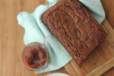 easy almond flour banana bread w/ banana butter