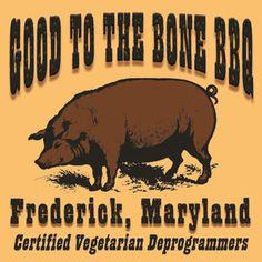 Good to the Bone BBQ Team Logo