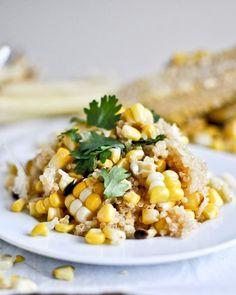 Grilled Corn + Cheddar Quinoa.