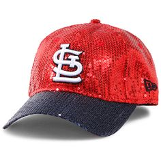 c45a87ee St. Louis Cardinals Women's Victoria's Secret PINK® Bling 9FORTY Adjustable  Cap by New Era