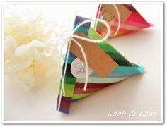 折り紙でテトラパック tetra pack