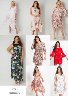 be73c6ae19 23 sukienki w kwiaty w rozmiarze plus size idealne na wiosnę i lato.
