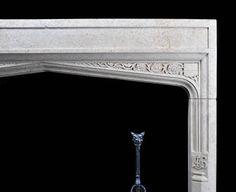 Antique Renaissance Oak Fireplace Mantel Renaissance
