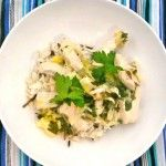 jamie oliver's chicken and leeks. sounds light, easy and delish...