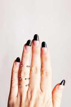 Nailed it!!!  Even more digit decor inspo here >> http://dropdeadgorgeousdaily.com/category/beauty-2/nail-it/  nail art, manicures, mani, polish, beauty, DIY, how tos, nails